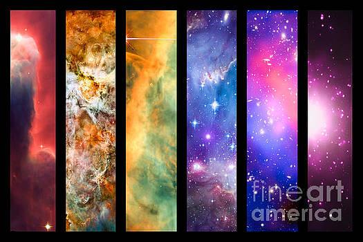 Delphimages Photo Creations - Space rainbow