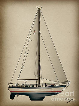 Gallant Sailing by Regina Marie Gallant