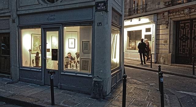 Chris Honeyman - Gallery district, Paris 2016