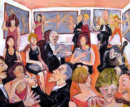 Gallery Opening by Barbara Yalof