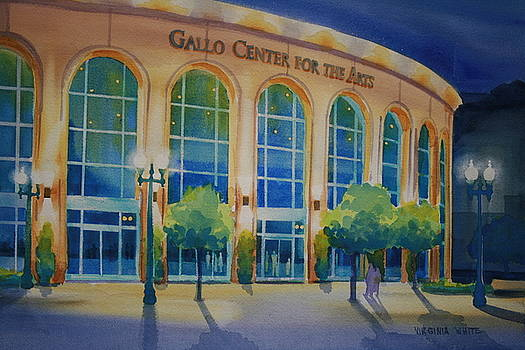 Gallo Center for the Arts by Virginia White
