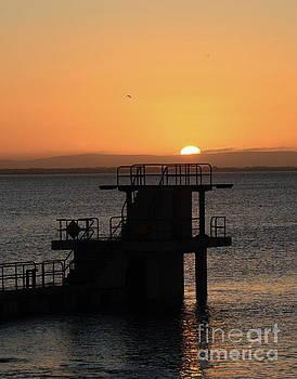 Galway bay sunrise by Peter Skelton