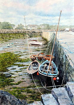 Galway Hooker by Bill Hudson