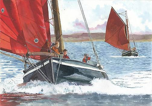 Galway Hookers by Phil Davis