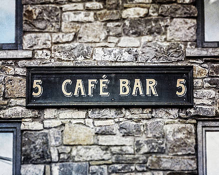Galway Ireland Cafe Bar by Lisa Russo