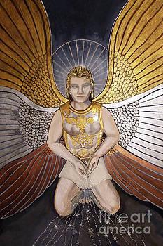 Gamaliel, Angel of Prosperity by Dia T