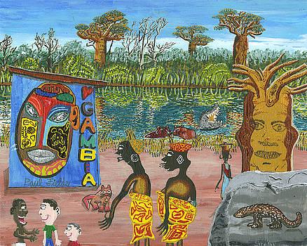 Gambia  mar by Paul Fields
