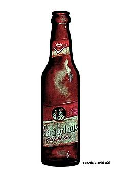 Gambrinus Beer Bottle by Frank Hunter