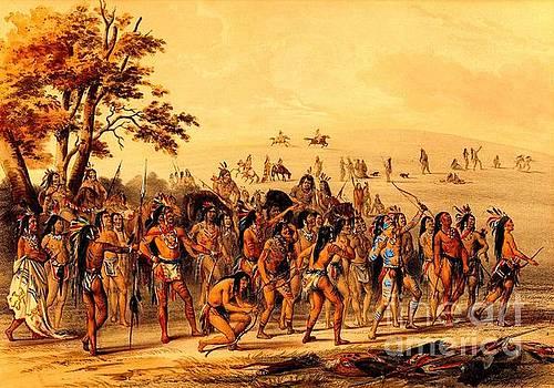 Peter Gumaer Ogden - Game of the Arrow 1855