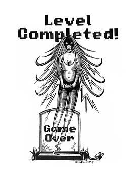 Game Over Girl by Raul Samano