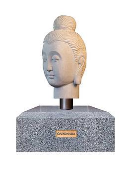 Buddha sculpture - Gandhara  by Terrell Kaucher