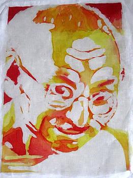 Gandhi by Amanda Thompson