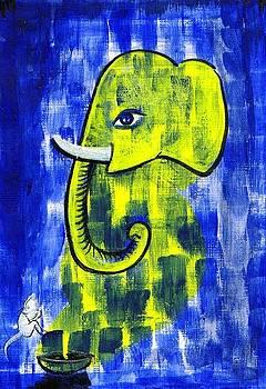 Ganesh by Dhiraj Parashar