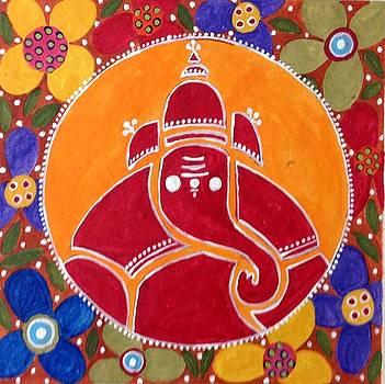 Ganesha  by Vidushini  Prasad