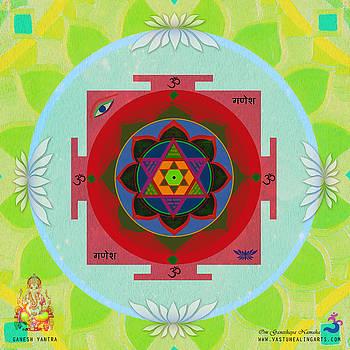 Ganesh Yantra by Sandra Petra Pintaric
