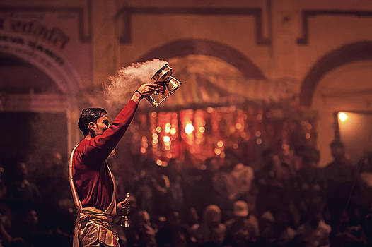 Mahesh Balasubramanian - Ganga Arthi, Varanasi, India