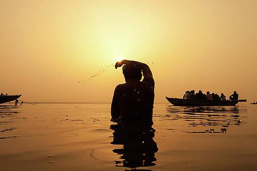 Mahesh Balasubramanian - Ganga Snan, Varanasi, India