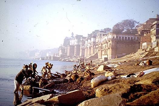 Ganges, Benares, India by Barron Holland