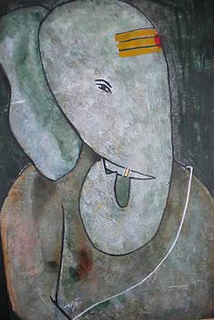 Ganpati 2 by Aman Chakra