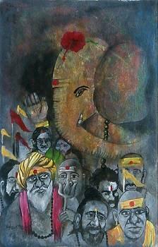 Ganpati by Aman Chakra