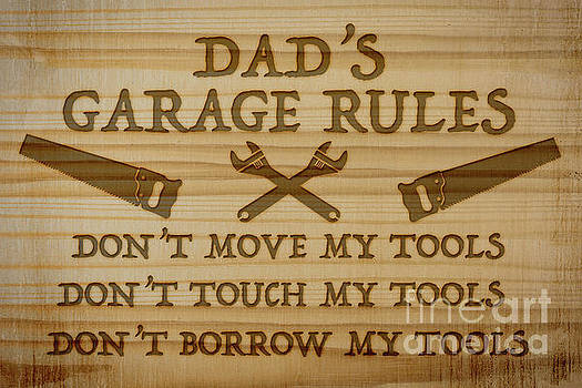 Garage Sign Collection-D by Jean Plout
