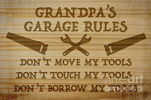 Garage Sign Collection-E by Jean Plout