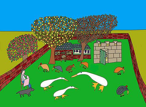 Garden and annex by Nicholas Brockbank