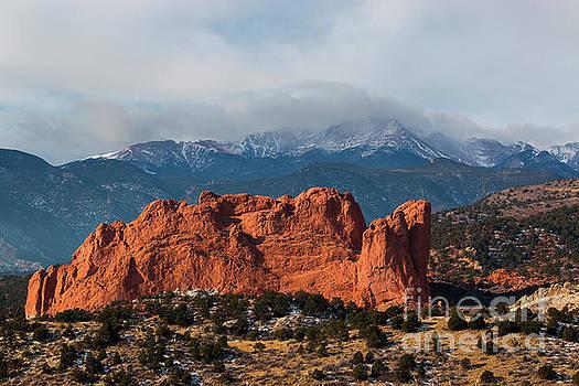 Steve Krull - Garden and Stormy Peak