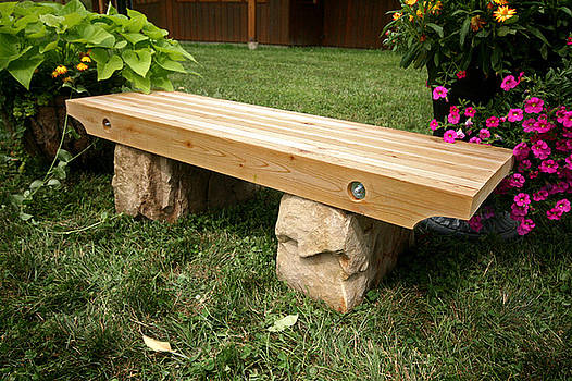 Garden Bench by Ken Hall