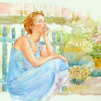 Garden Blues by Deborah Carman