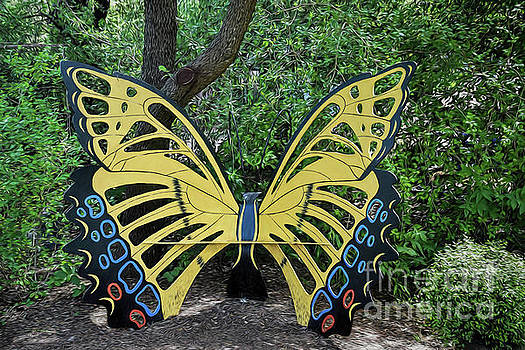Garden Butterfly Seat by Ray Shrewsberry