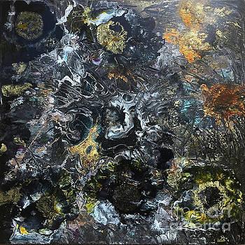 Garden By Moonlight by Nancy TeWinkel Lauren