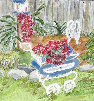 Garden Carriage by Barbara Pearston