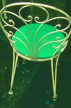 Garden Chair Series-Green by Tamarra Tamarra