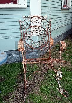 Garden Chair by Terry Burgess