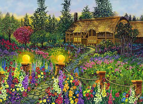 Garden Cottage by Bonnie Cook