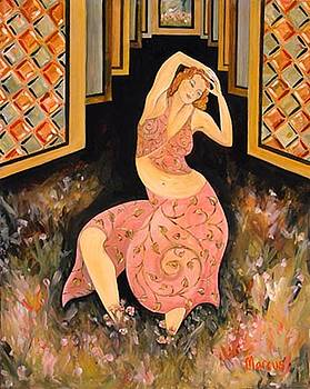 Garden Dancer by Leslie Marcus