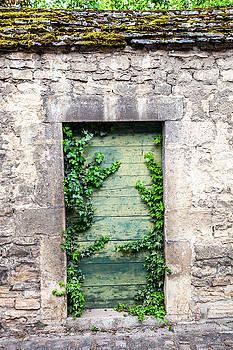 W Chris Fooshee - Garden Door in Beaune