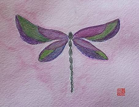 Garden Dragonfly by Margaret Welsh Willowsilk
