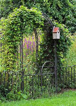 Garden Entrance by Alan L Graham
