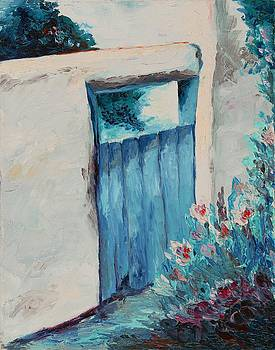 Garden Entry by Francoise Villibord Pointeau