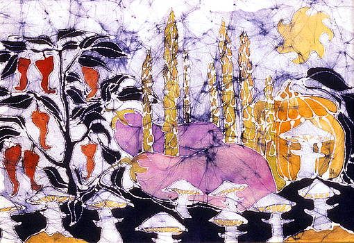 Garden Fest from the Sun by Carol  Law Conklin