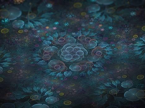 Garden full of Bubble Blooms by Amorina Ashton