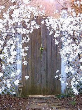 Garden Gate by Joyce Kimble Smith