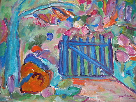 Garden Gate by Marlene Robbins