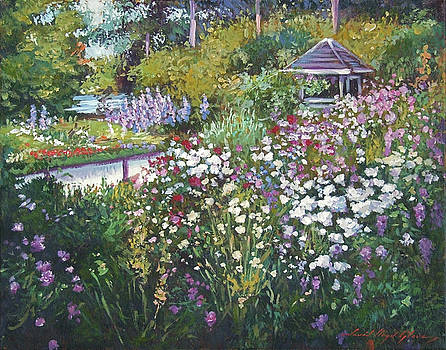 Garden Gazebo by David Lloyd Glover