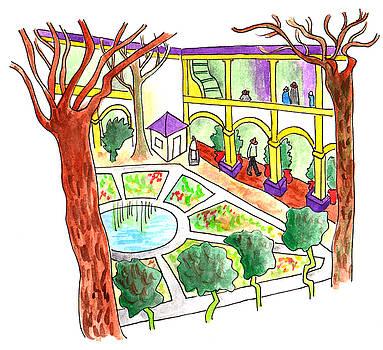 Anna Elkins - Garden Hospital in Arles
