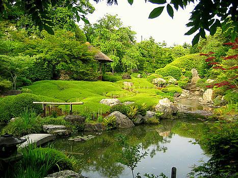 Garden In Kyoto by Keiko Richter