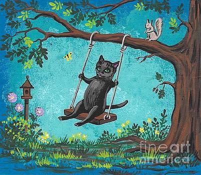 Garden Joy by Margaryta Yermolayeva