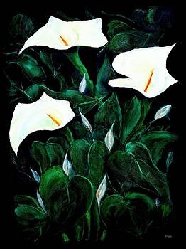 Garden Lilies by VIVA Anderson